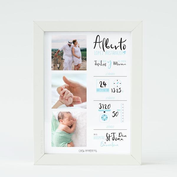 lamina-nacimiento-tres-fotos-azul
