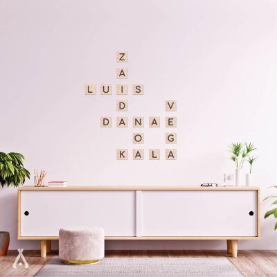 Composición nombres madera