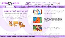 Site de vente en ligne du fabricant de jouets en bois Atinoo
