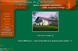 Les Maisons de Christophe, agence immobilière à Bayonne