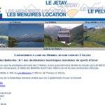 2 appartements à louer dans la station de ski des Menuires, située dans les 3 Vallées dans les Alpes