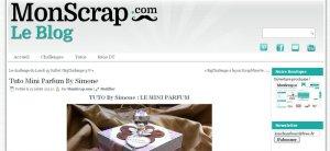 monscrap.com, le blog