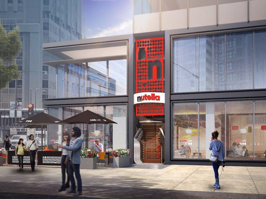Le premier Nutella café va ouvrir à Chicago