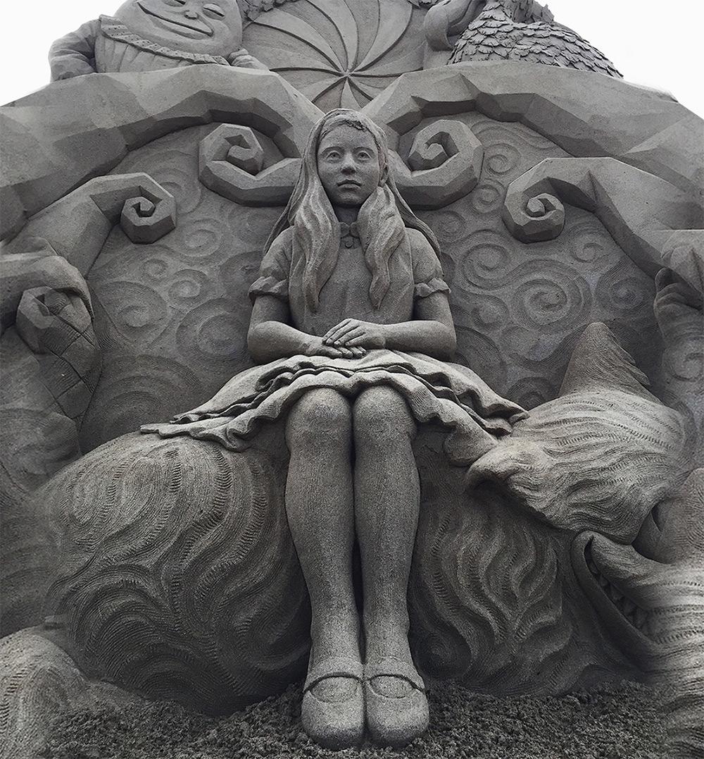 Les surprenantes sculptures de sable de Toshihiko Hosaka