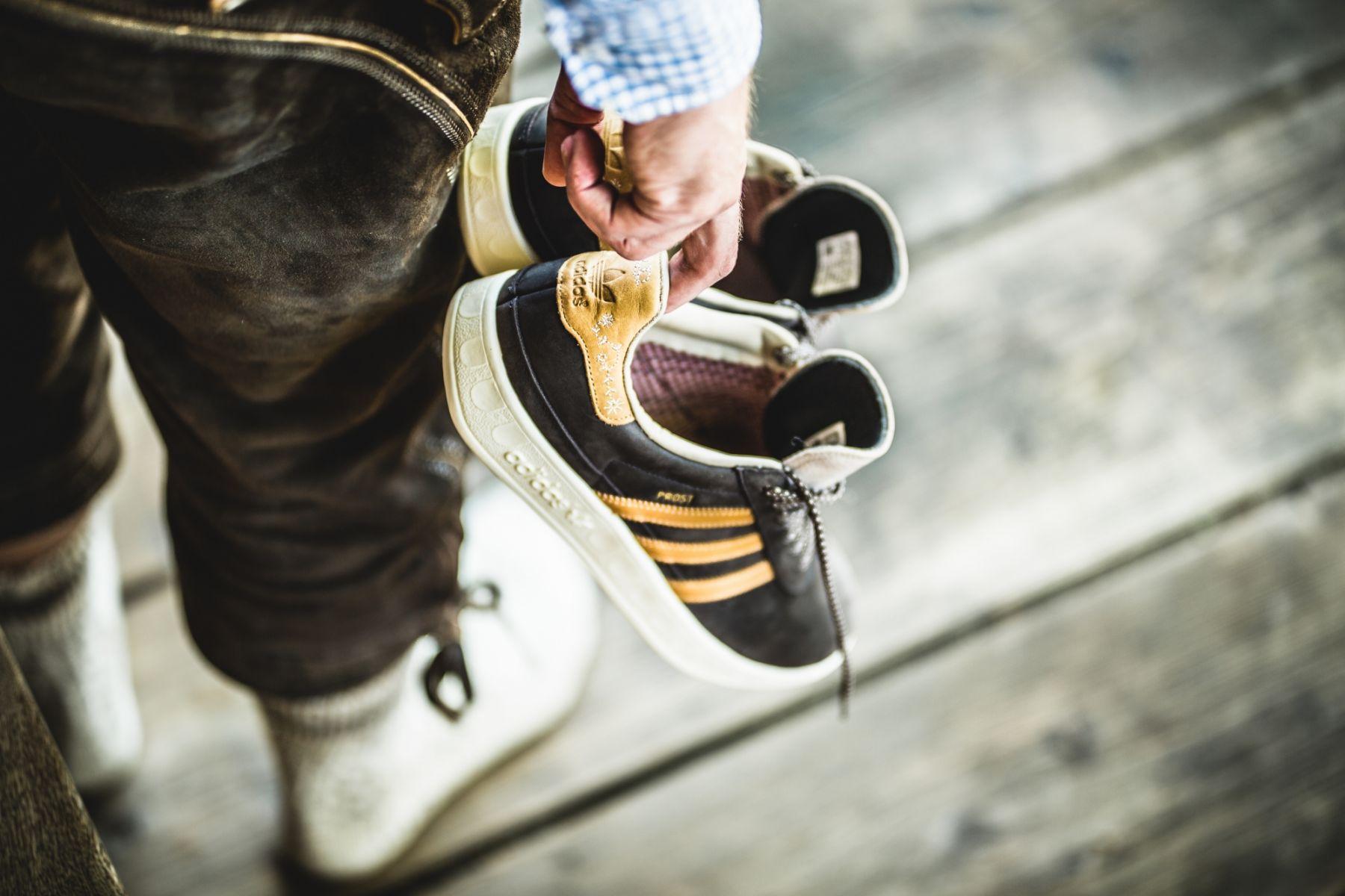 Adidas dévoile des chaussures qui résistent à la bière (et