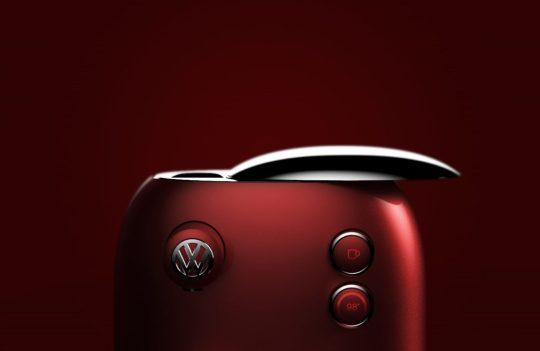 Cette machine à café Volkswagen rend hommage au design de la Coccinelle