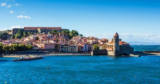 La ville de Collioure