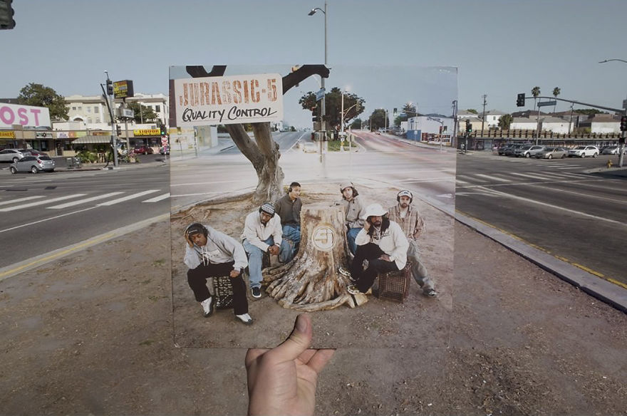 Le photographe Alex Bartsch a passé 20 ans à retrouver les lieux des pochettes d'albums