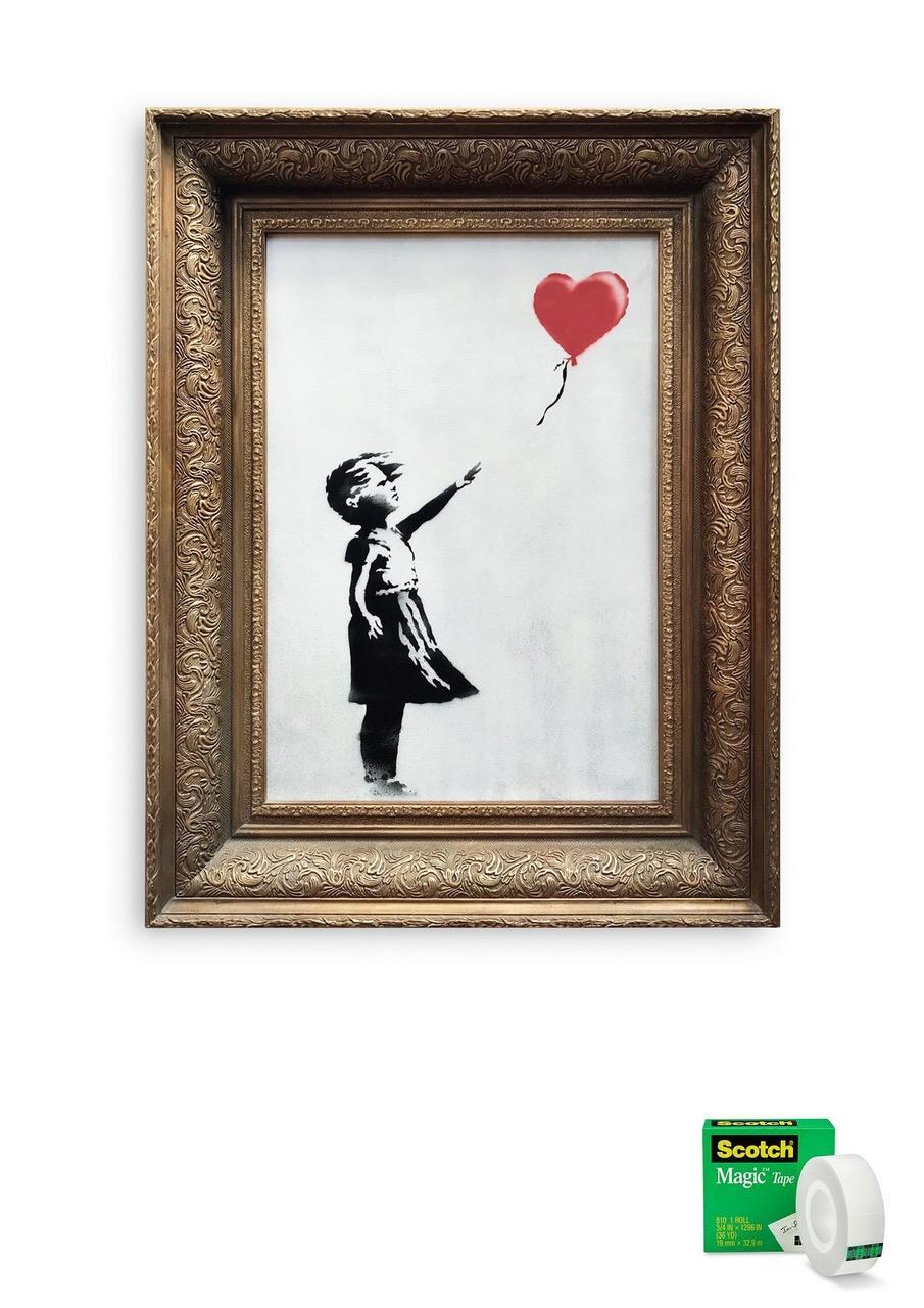 La Petite Fille Au Ballon Analyse : petite, fille, ballon, analyse, Meilleurs, Détournements, Créatifs, Destruction, Petite, Fille, Ballon