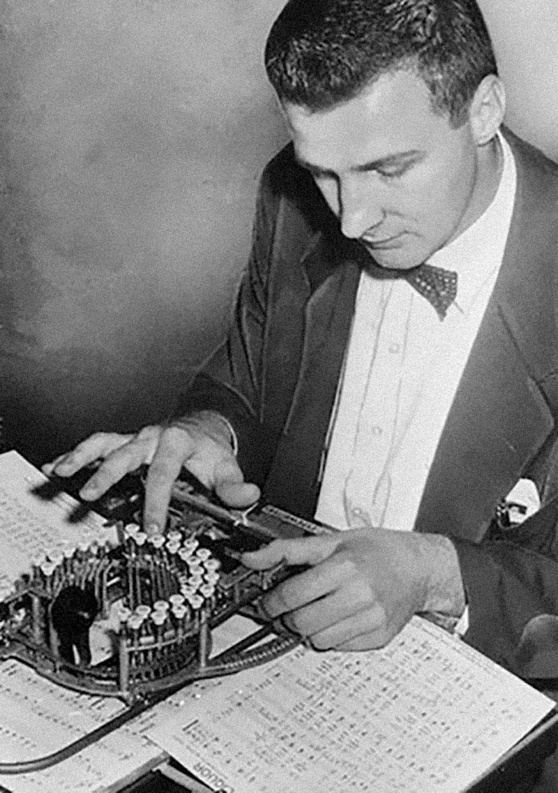 Invention De La Machine à écrire : invention, machine, écrire, Cette, étrange, Machine, Années, Servait, Rédiger, Partitions, Musique