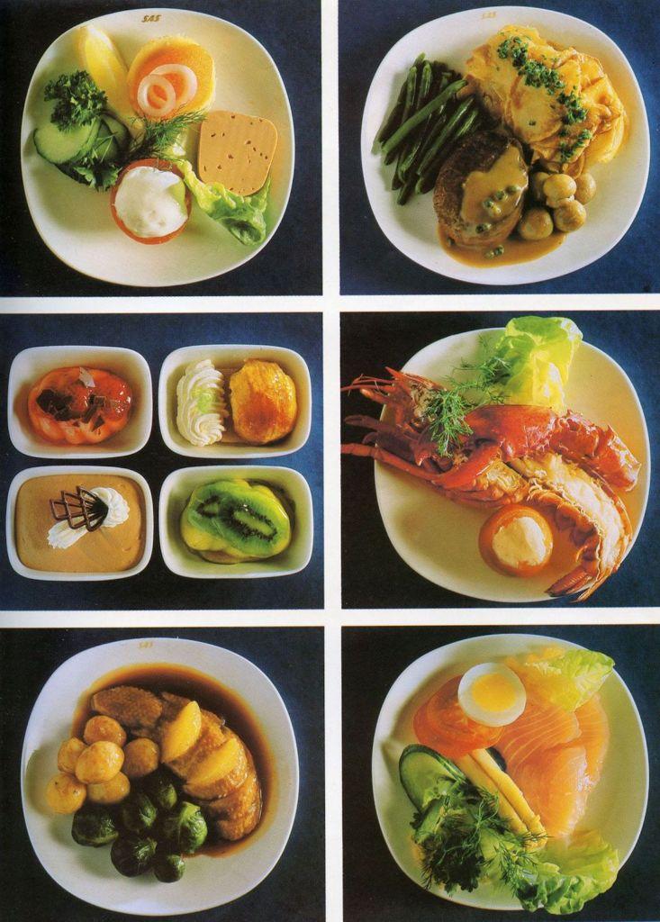 Cette compagnie aérienne scandinave montre à quoi ressemblaient les repas dans les années 1950 ! By Mélanie D. Sas-compagnie-aerienne-repas-12