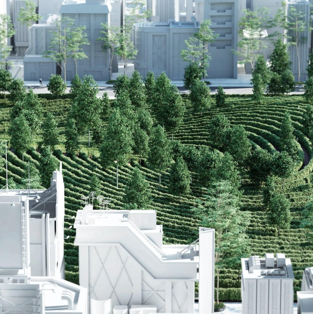 Parc de la Distance : un jardin conçu pour faire respecter la distanciation sociale