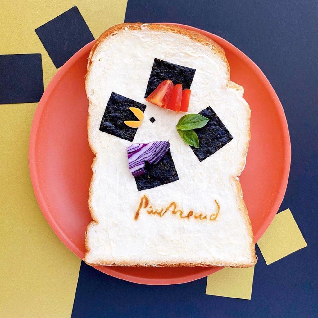 L'artiste japonaise Manami Sasaki transforme ses tartines en art délicieux