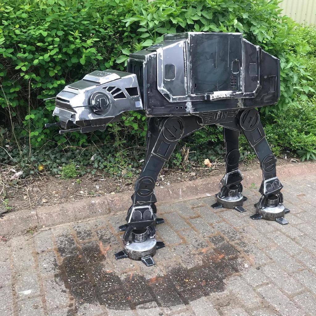 Un barbecue AT-AT pour les fans de Star Wars