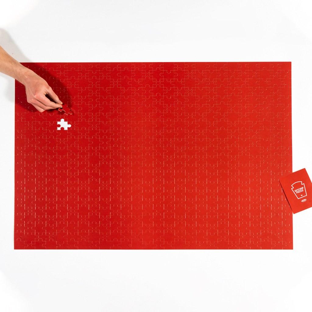 La marque de ketchup Heinz dévoile un puzzle spécial confinement