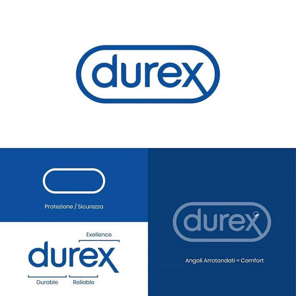 Origine du logo Durex