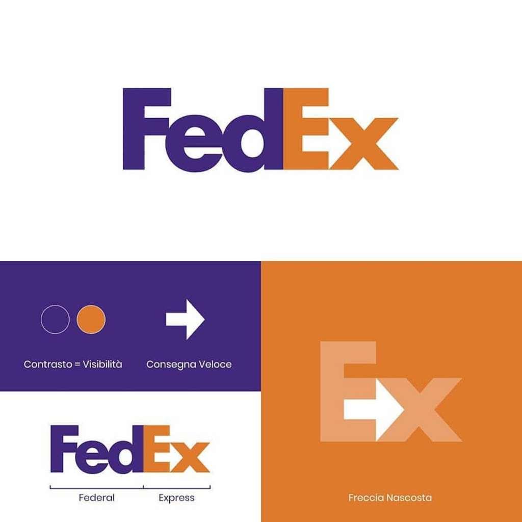 Origine du logo Fedex