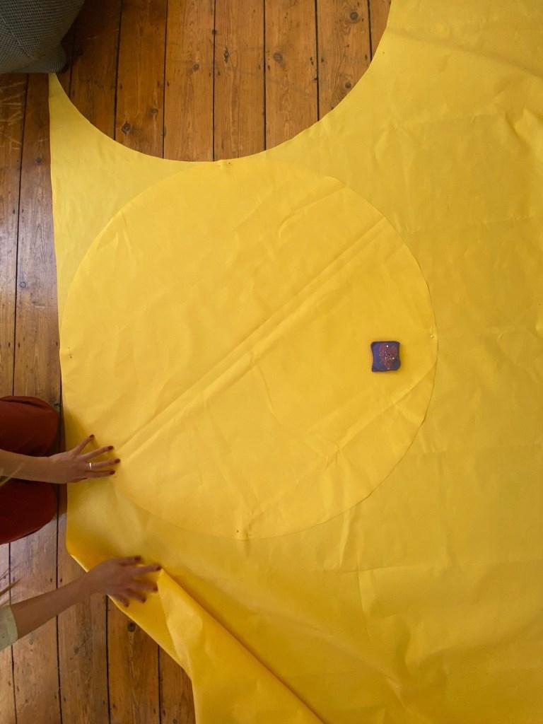 Une nappe de pique-nique conçue pour la distanciation sociale