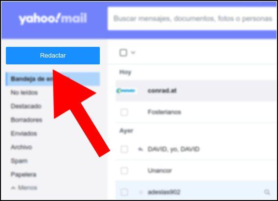 redactar Yahoo! Mail