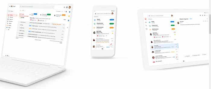 Aplicación Gmail