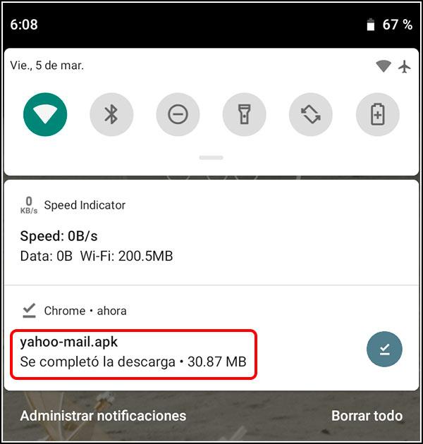 APK de Yahoo Mail