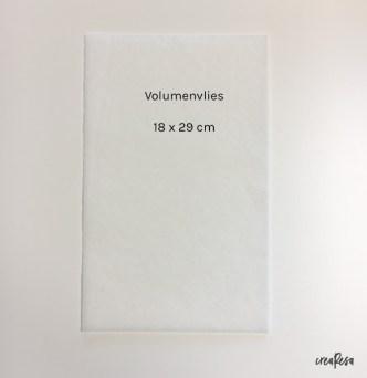 Optional: Volumenvlies