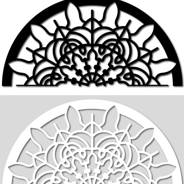 Arched Notre Dame Wall Tattoo. Adesivi murali di CreArtDesignItaly.com per decorazione da parete