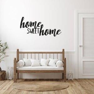 Adesivi da parete HOME SWEET HOME 150 x 70 di CreArtDesignItaly