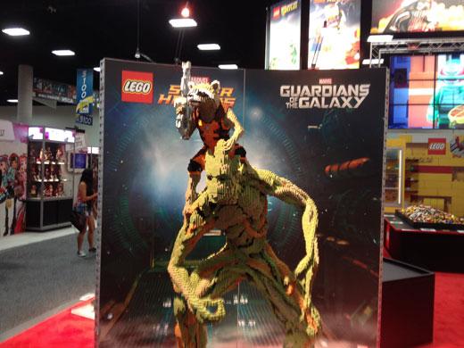 LEGO At San Diego Comic-Con 2014