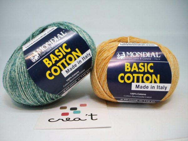 Basic cotton Stampe Mondial