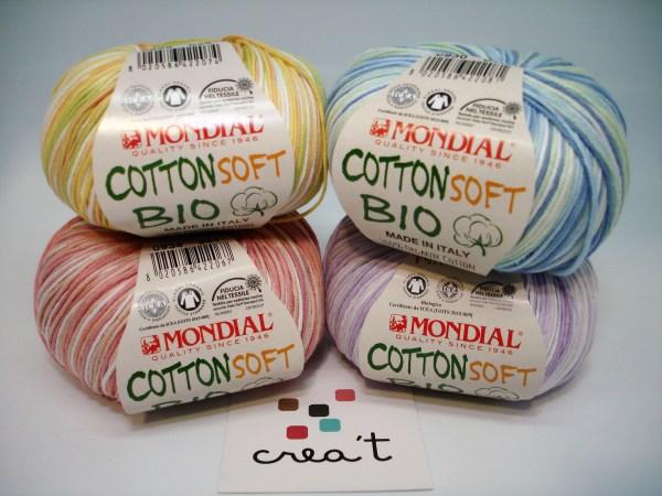 Cotton Soft Bio Stampe Mondial