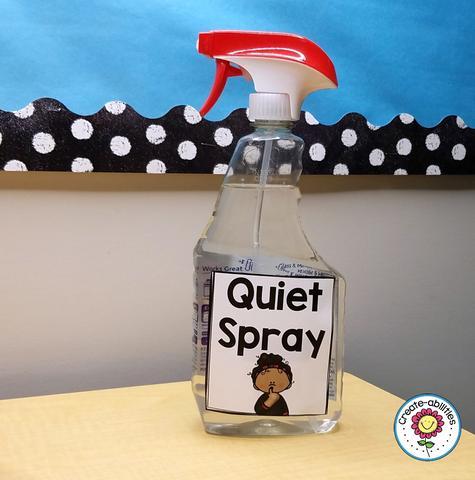Quiet Spray
