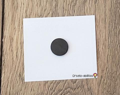 Visual Directions Cards with magnet