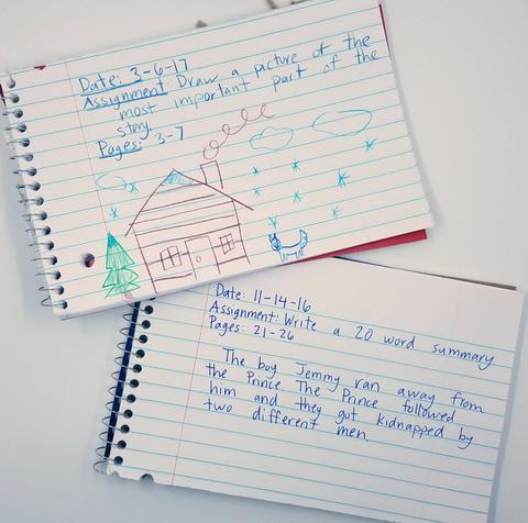 guided reading notebooks