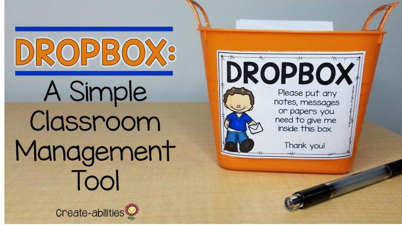 Dropbox Classroom Management Tool
