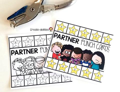 Student Grouping Punch Cards