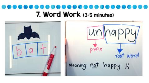 engage in word work