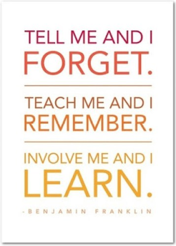 Teach Me and I Remember