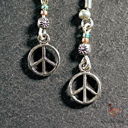 Boucles d'Oreille Peace