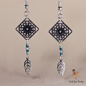 Boucles d'Oreilles Inka Style