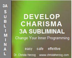 Develop Charisma 3A Subliminal