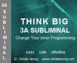 Think Big 3A Subliminal