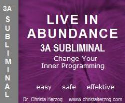 Live in Abundance 3A Subliminal
