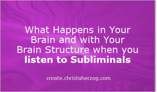 Brain Structure and Subliminals