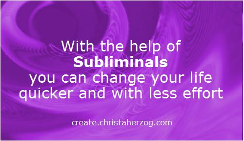 Quicker Life Change with Subliminals