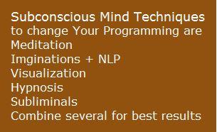 Subconscious Mind Techniques