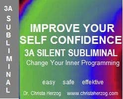 Improve Self Confidence 3A Silent Subliminal