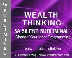 Wealth Thinking 3A Silent Subliminal