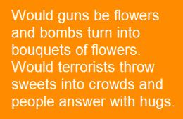 Would Guns be Flowers