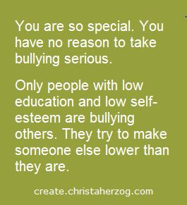Be Aware of How Special You Are